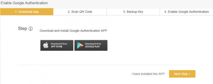 скачать Google Authentication APP